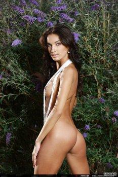 璀璨的极品人体模特Olga [