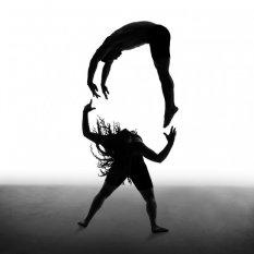 Erica Simone黑白光影舞者