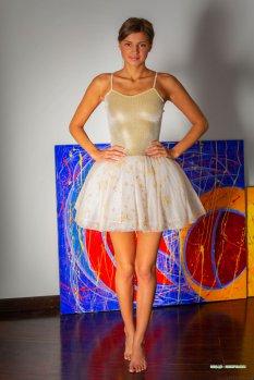 芭蕾艺术家Melena