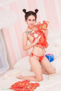 喜气洋洋中国娃娃贞贞
