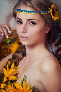 花簇天使温柔如少女性感如