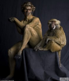 美国摄影师打造人兽交错画