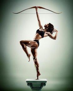 人体艺术的N种创意